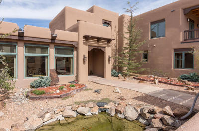 Tijeras, Cedar Crest, Sandia Park, Edgewood, Moriarty, Stanley Single Family Home For Sale: 18 Camino Real