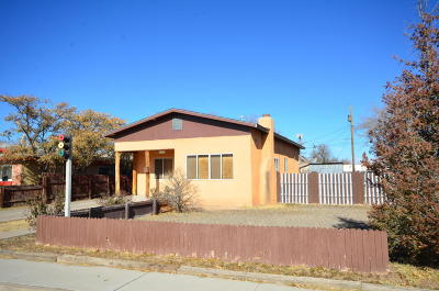 Albuquerque NM Single Family Home For Sale: $134,400