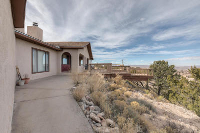 Placitas Single Family Home For Sale: 155 Juniper Road