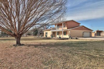 Valencia County Single Family Home For Sale: 2070 Camino De Chavez Road