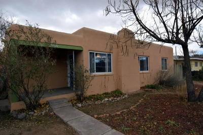 Albuquerque Single Family Home For Sale: 5000 Glendale Road NW