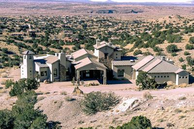 Placitas Single Family Home For Sale: 11 Los Lobos Court