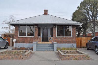 Albuquerque Single Family Home For Sale: 907 Silver Avenue SW