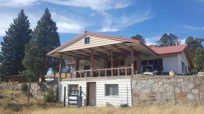 Catron County Single Family Home For Sale: 20 Martinez Road