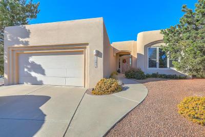 Albuquerque Single Family Home For Sale: 12801 Sandia Ridge Place NE