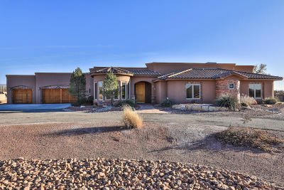 Valencia County Single Family Home For Sale: 4 Leibel Court