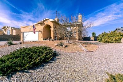 Rio Rancho NM Single Family Home For Sale: $214,900