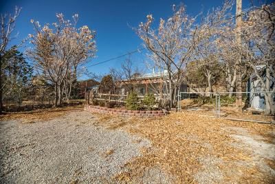 Tijeras, Cedar Crest, Sandia Park, Edgewood, Moriarty, Stanley Single Family Home For Sale: 249 Sedillo Hill Road