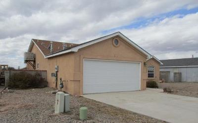 Valencia County Single Family Home For Sale: 9 Revelations Place