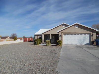 Valencia County Single Family Home For Sale: 1295 Parkview Drive SW