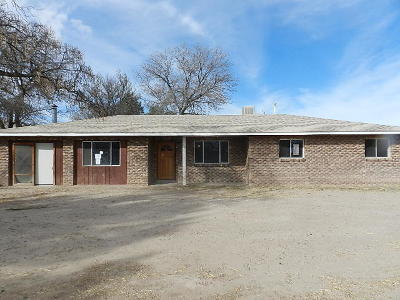 Valencia County Single Family Home For Sale: 1608 Peyton Road
