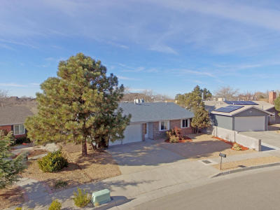 Albuquerque Single Family Home For Sale: 10409 Mazatlan Drive NE