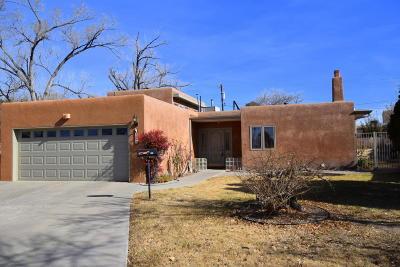 Albuquerque Single Family Home For Sale: 514 Hermosa Drive SE