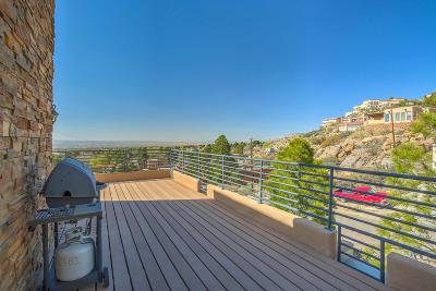 Albuquerque Single Family Home For Sale: 13316 Hidden Valley Road NE