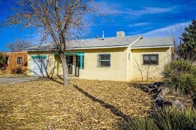 Albuquerque Single Family Home For Sale: 812 Georgia Street SE