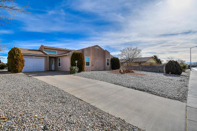 Rio Rancho Single Family Home For Sale: 258 Western Hills Drive SE