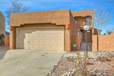 Albuquerque Single Family Home For Sale: 2178 Cattail Willow Avenue NE