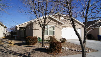 Albuquerque Single Family Home For Sale: 11008 Rim Drive NW