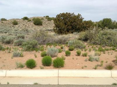 Rio Rancho NM Residential Lots & Land For Sale: $75,000