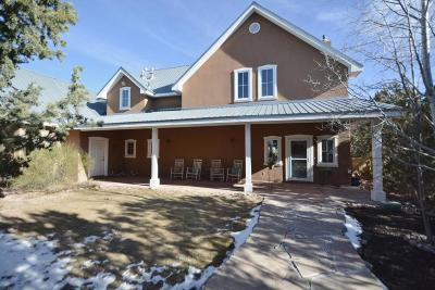 Tijeras, Cedar Crest, Sandia Park, Edgewood, Moriarty, Stanley Single Family Home For Sale: 24 Abiquiu Court