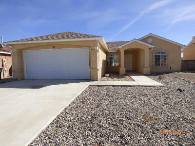 Valencia County Single Family Home For Sale: 8 Acts Place