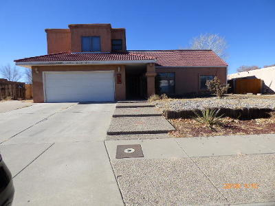 Albuquerque Single Family Home For Sale: 5613 Palomino Drive NW