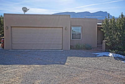 Placitas Single Family Home For Sale: 184 State Highway 165