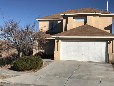 Albuquerque Single Family Home Active Under Contract - Short : 10912 Desert Dreamer Street NW