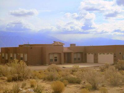 Rio Rancho Single Family Home For Sale: 4810 Baranca Road NE