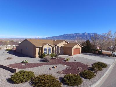 Albuquerque, Rio Rancho Single Family Home For Sale: 2618 Withington Peak Drive NE