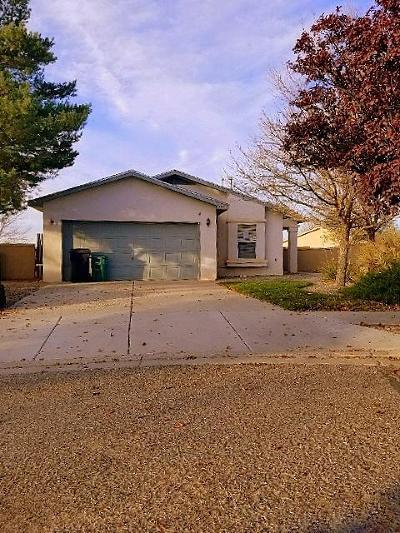Rio Rancho Single Family Home For Sale: 3001 Solano Meadows Drive NE