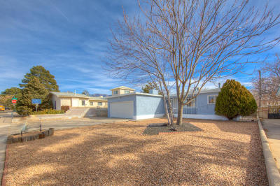 Albuquerque Single Family Home For Sale: 1124 Espejo Street NE