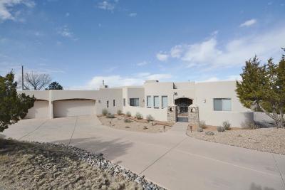 Placitas Single Family Home For Sale: 3 La Entrada