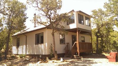 Tijeras, Cedar Crest, Sandia Park, Edgewood, Moriarty, Stanley Single Family Home For Sale: 64 Juniper Hill Loop