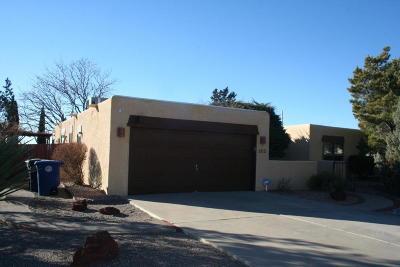 Albuquerque Single Family Home For Sale: 1713 Singletary Drive NE