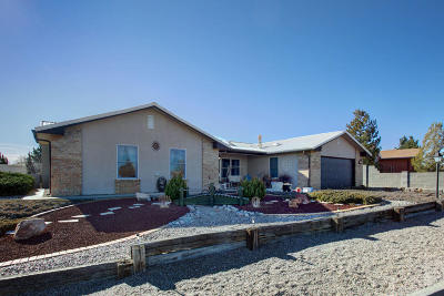 Albuquerque, Rio Rancho Single Family Home For Sale: 2888 Panorama Heights Drive SE