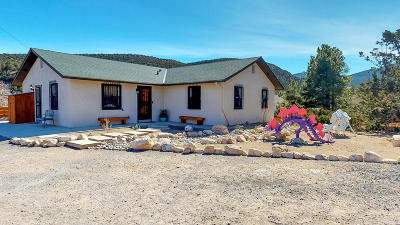 Placitas Single Family Home For Sale: 893 State Highway 165