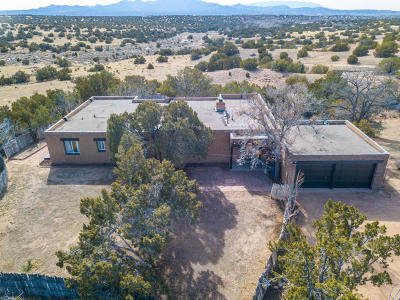 Santa Fe Single Family Home For Sale: 82 San Marcos Road