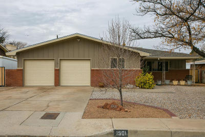 Albuquerque Single Family Home For Sale: 1501 Dakota Street NE
