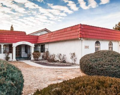 Single Family Home For Sale: 4915 Camino De Monte NE
