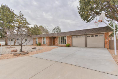 Albuquerque Single Family Home For Sale: 4801 Brookwood Street NE
