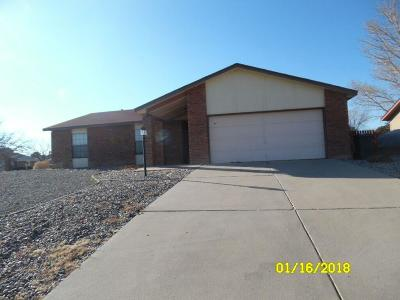 Rio Rancho Single Family Home For Sale: 461 Littler Drive SE
