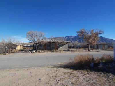 Bernalillo Single Family Home For Sale: 1300 Old Highway 85
