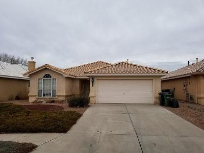Rio Rancho Single Family Home For Sale: 1258 Snowflake Court SE