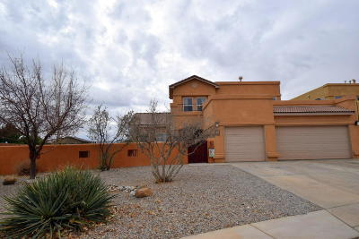 Albuquerque Single Family Home For Sale: 7100 Crosswinds Trail NW