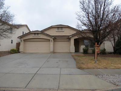 Rio Rancho NM Single Family Home For Sale: $266,750