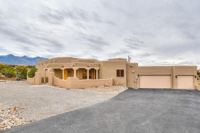 Placitas, Bernalillo Single Family Home For Sale: 36 Anasazi Trails Loop