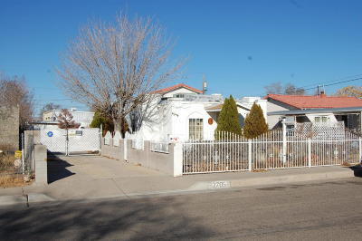 Albuquerque NM Single Family Home For Sale: $62,500