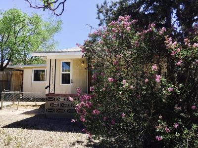 Albuquerque NM Single Family Home For Sale: $110,000