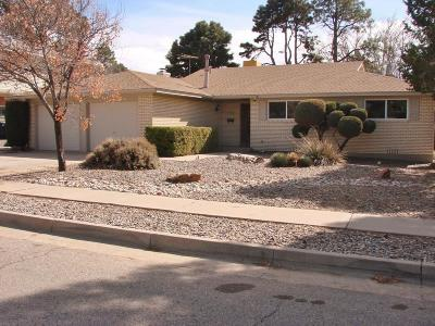 Albuquerque Single Family Home For Sale: 7500 Gladden Avenue NE